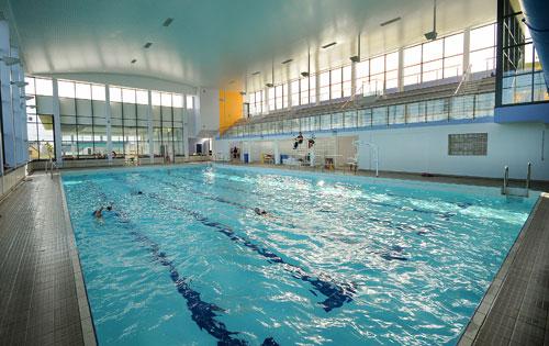 refurbishment of larne leisure centre swimming pool areas